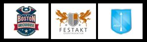 Логотипы в стиле Гербы