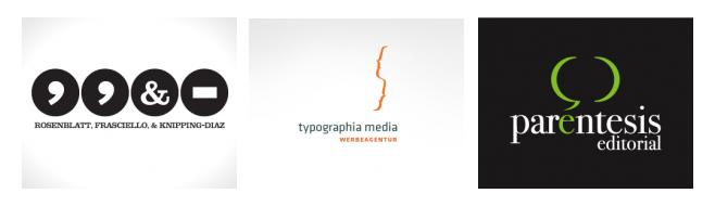"""Логотипы в стиле """"знаки письменной принадлежности"""""""
