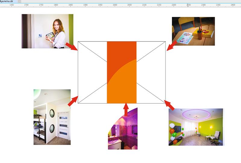 Как создать дизайн буклета в Corel Draw корел_11