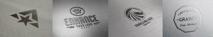 Логотипы мокапы