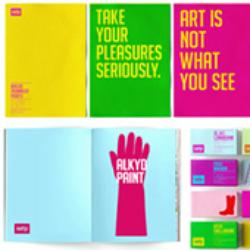 Фирменный стиль для компании по производству красок