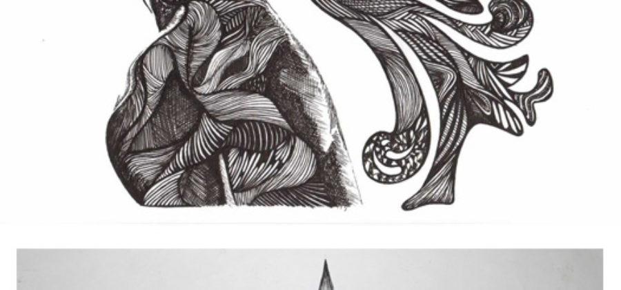 Рисунки гелевой ручкой. Подборка №3