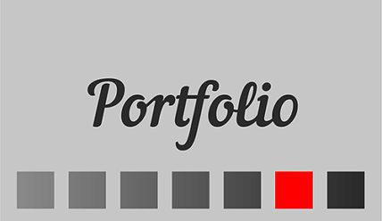 Портфолио для дизайнера-фрилансера